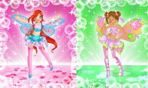 Winx Pretty rhythm style by Dessindu43