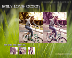 Emily Love Action by benlovesyou