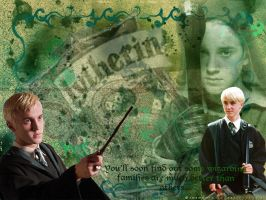 Draco Malfoy Wallpaper by Kittykorner