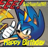 HAPPY BIRTHDAY to SONICFOAMYFAN by SoniKwolf1498