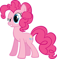 Pinkie Pie by MoongazePonies