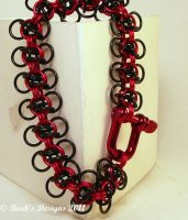Stunning Chainmaille Bracelet by Barbsdesigns