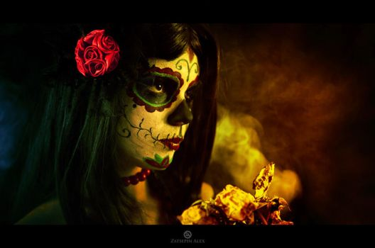 Sugar Skull2 by Elisanth