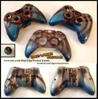 Bioshock Rapture Xbox 360/One controller shells by Edge-Works