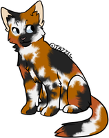 Adoptable Cat Seven by Nocte-Cornu