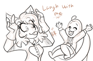 Laugh With Me by Marie-Mike