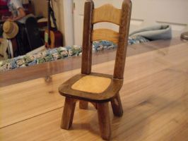 Balsawood Chair Model by Sawdust013