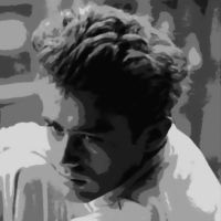 James Dean Paint By Number Art Kit by numberedart