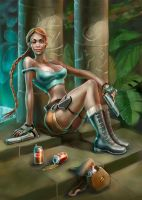 Lady Lara Croft classic by Sophia-M