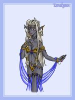 Yet Another... Sexy Drow Chick by SozokuReed