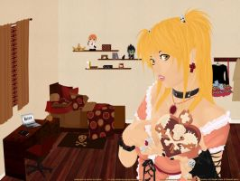 Misa's Room Wallpaper by Miss-karaz