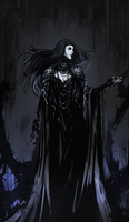 Witch of Thorns by Banished-shadow