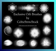 Orb Brushes by CelticStrm-Stock by CelticStrm-Stock