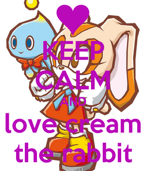 CREAM THE RABBIT 4EVER by kimi-finster1997