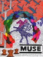 Muse Albums Collage by Gloriousmuser