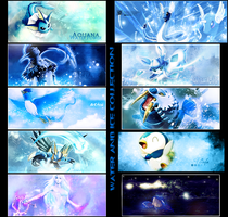 Elements Water 'n Ice by crystalcleargfx