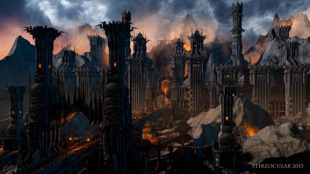 Angband rebuild 01 by Stirzocular