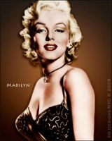 Marilyn Monroe Colorized by xgnyc