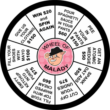 ILHT Prop: The Wheel of Malady by TBWPlum