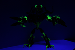 The Destroyer under Black Light by DRYeisleyCreations