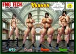 Shanon's Body by gpfer