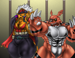 The Digimon Dojo Workout by GrineX