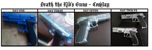 Making Death The Kid Cosplay Guns by ShadowDelight