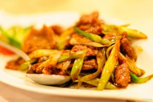 Stir-Fried Beef by KuroDot