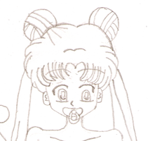 Diapered Usagi PREVIEW by laprasking