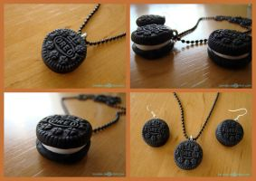 Oreo jewelry set by Sandien
