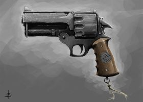 Hellboy's Gun by Spellsword95
