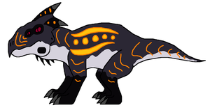 Fauna of KaijuRealm- Scrounger by DinoWrassler620