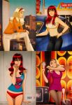 Retro Mary Jane and Gwen by DESPOP