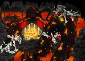 Dragon Hunt 2015: Myth of Red Cove Cave by HoT-Stables