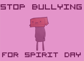 BULLYING AWARENESS: Spirit Day by TheLamadude