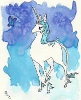 The Last Unicorn by whitew3r3wolf