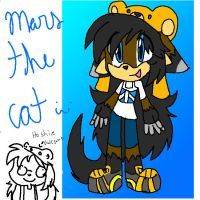 Mars the cat by silvazelover2