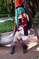Pirate Miku: Cute but dangerous by midsummerkiss
