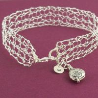 Sterling Lace Bracelet 1 by RavenBaubles