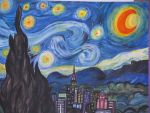 The Starry Night - Update by ladyluck2613