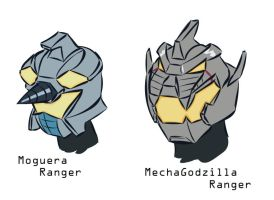 next Godzilla Force Rangers by RiderB0y