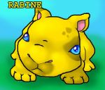 Golden Rabine by DiamondInTraining
