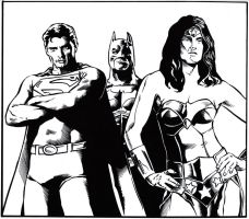 The Trinity by PeterPalmiotti