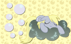 Sleepy Derpy Hooves WP by AliceHumanSacrifice0
