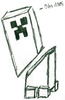 Creeper gets sliced by Rithiv