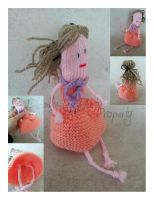 My 1st knitted doll! by Deadly-Tea-Party