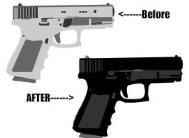 Votation!: Weapons: Glock by vmlng