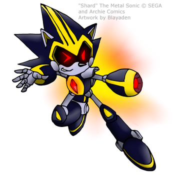 'Shard' the Metal Sonic (Sonic 3/3) by Blayaden