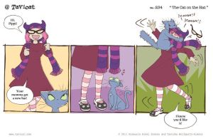 At 234 The Cat On The Hat by Tavicat