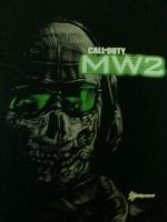 MW2 Ghost Shirt by animeangel724